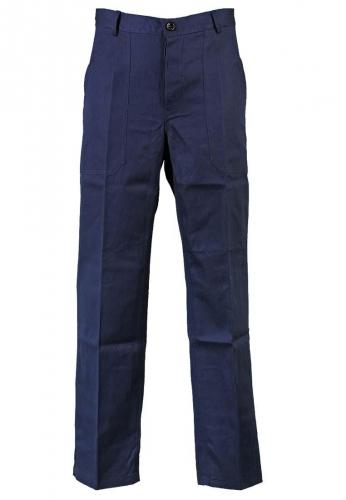 Arbeits-Bundhose marineblau, 100% Baumwolle