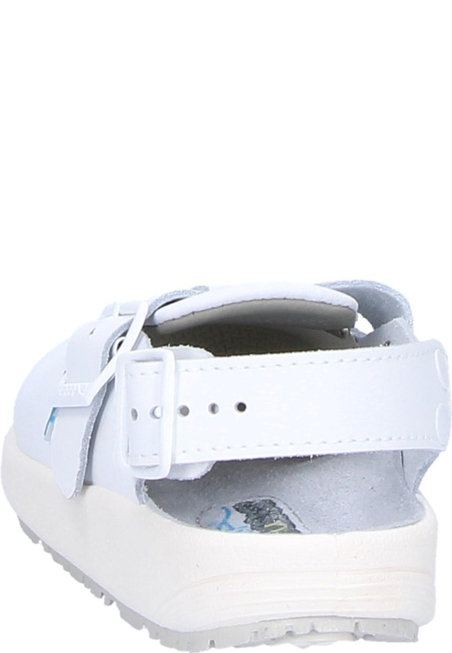 Pantolette Clog 9100 white von Abeba, Arbeitsschuh für Küche, Lebensmittelbereich oder Labor