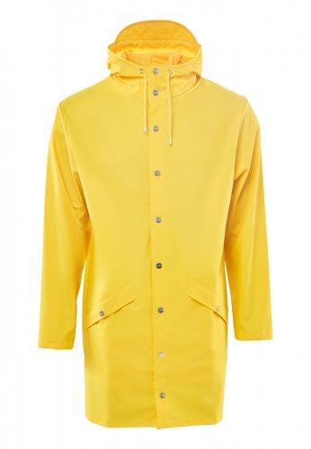 RAINS Regenjacke LONG JACKET in gelb