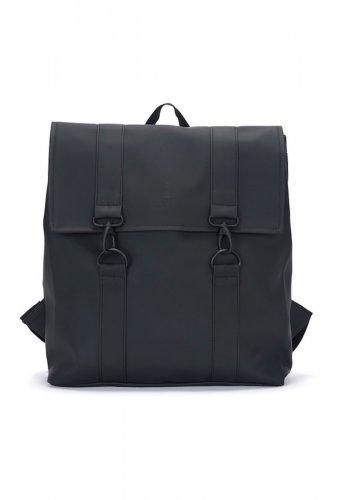 RAINS wasserdichter Rucksack MSN BAG in schwarz