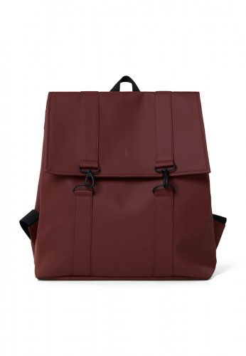 RAINS wasserdichter Rucksack MSN BAG in maroon