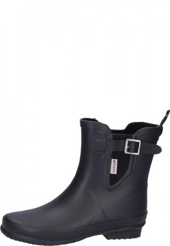 Damen Gummistiefelette - NICOLE black - eine trendige Gummistiefelette von Tretorn in Kurzform