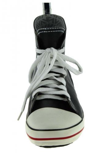 Trendiger Kurz Gummistiefel von Viking Kicks navy neues Sneaker Design im aktuellen Look