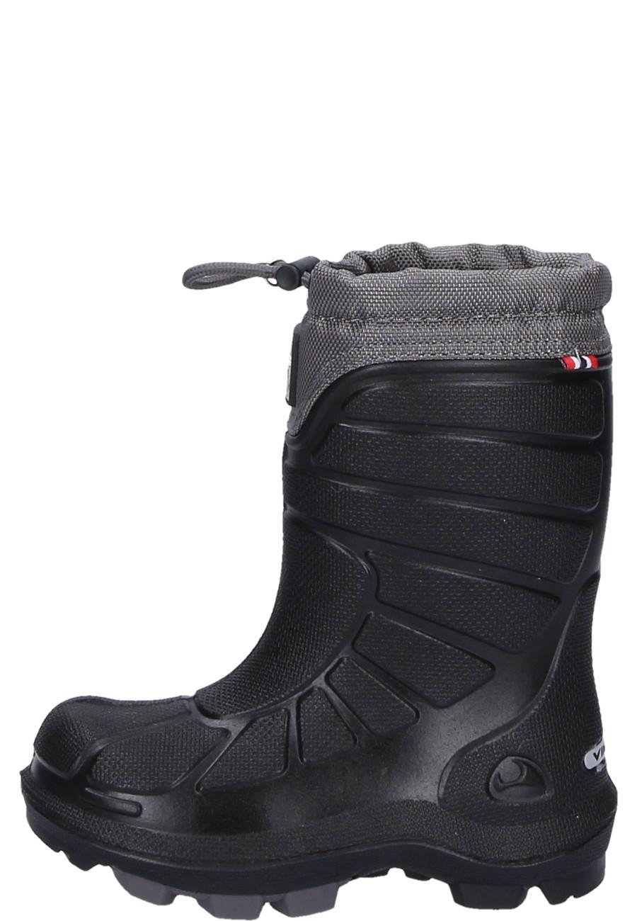 quality design bd6df fe23a Viking Kinder Winter Gummistiefel EXTREME black/grey