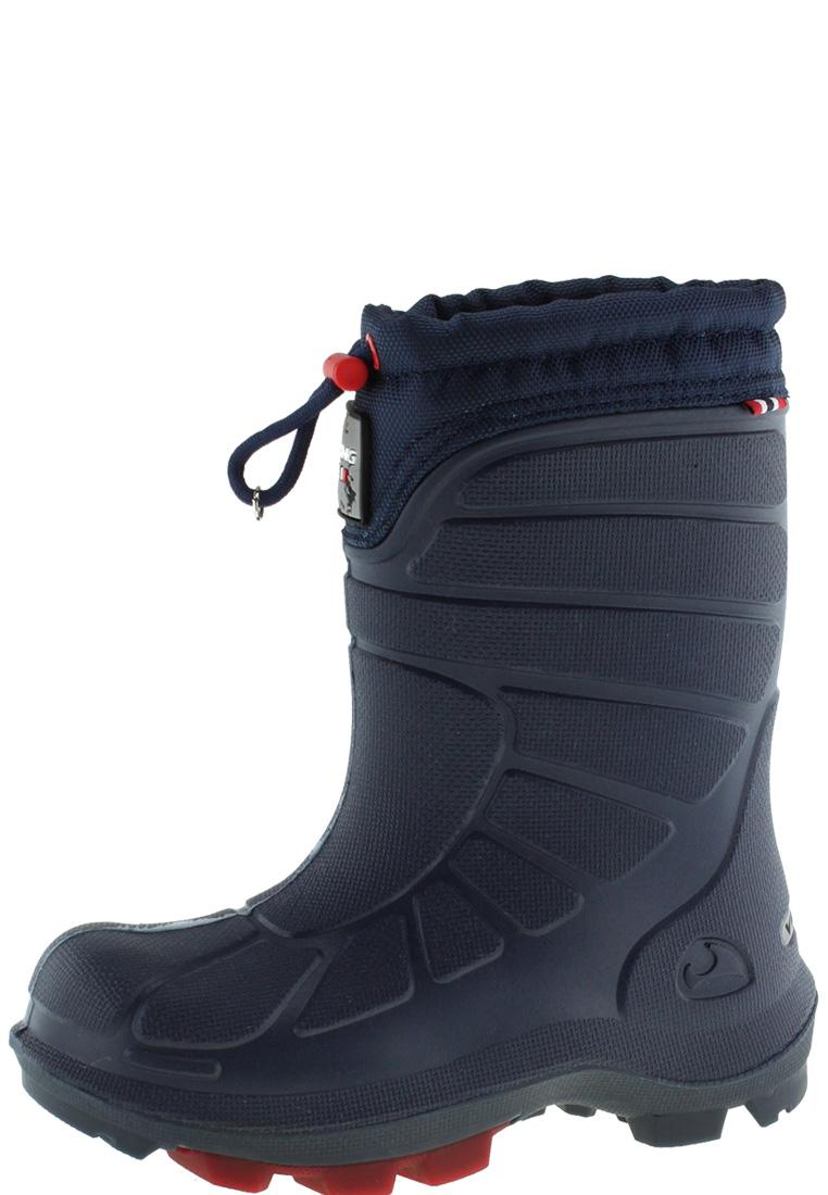 new style fc9fe 39f25 Viking Kinder Winter Gummistiefel EXTREME navy/red
