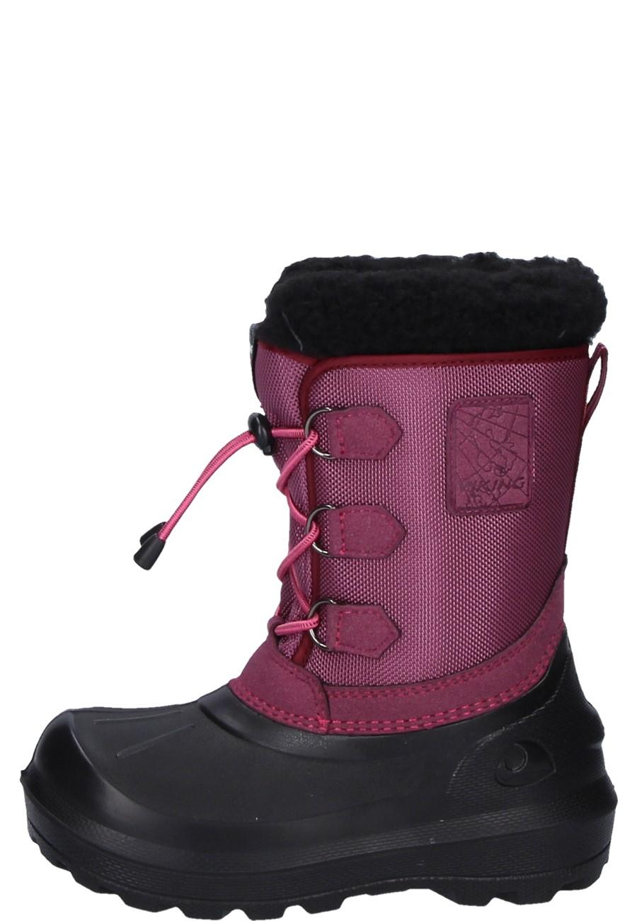 huge discount 7b313 e9a05 Viking Kinder Winter Gummistiefel ISTIND dark pink/black